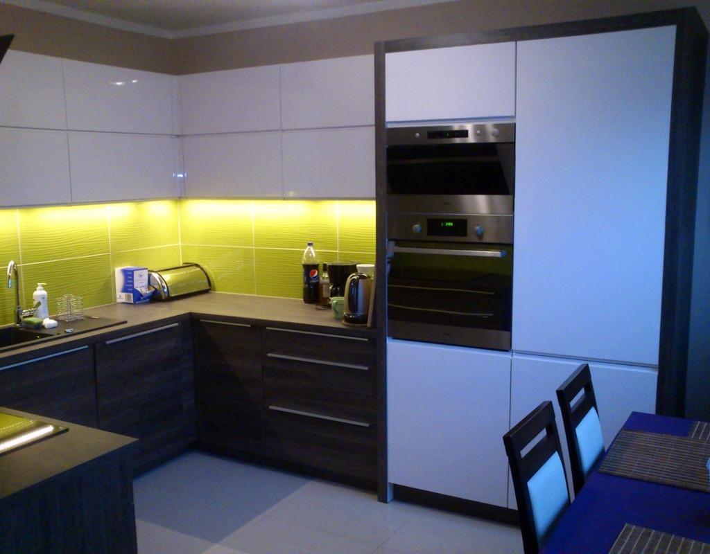 oświetlenie kuchni na wymiar